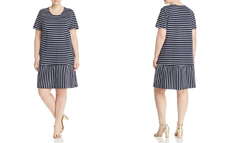 JUNAROSE Plus Domias Striped Ruffle Dress - Bloomingdale's_2