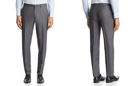 HUGO Hets Slim Fit Birdseye Suit Pants - Bloomingdale's_2