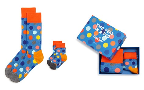 Happy Socks Two Peas in a Pod Father & Son Gift Box - Bloomingdale's_2