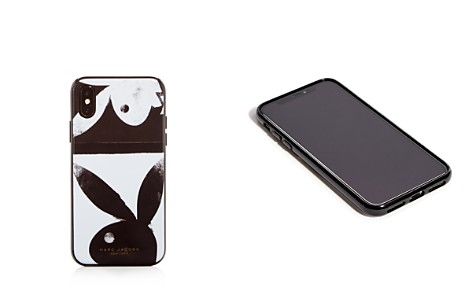 MARC JACOBS Playboy Bunny iPhone X Case - Bloomingdale's_2