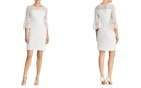 Lauren Ralph Lauren Petites Bell-Sleeve Lace Sheath Dress - Bloomingdale's_2