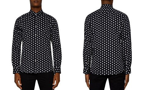 Ted Baker Mineral Geometric Regular Fit Button-Down Shirt - Bloomingdale's_2