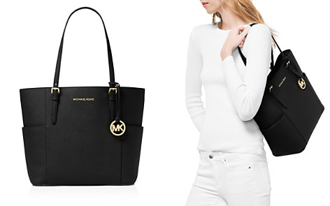 MICHAEL Michael Kors Jet Set Large Leather Tote - Bloomingdale's_2