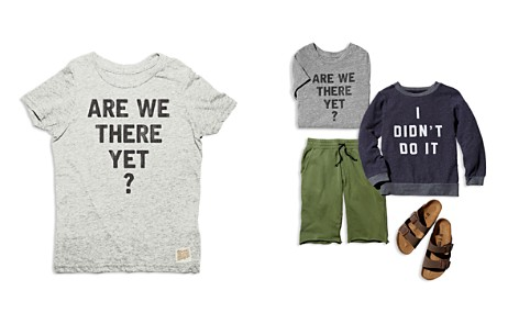 Retro Brand Boys' Are We There Yet Tee - Little Kid - Bloomingdale's_2