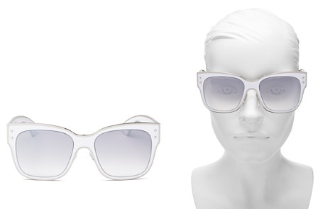 Moschino Women's 000 Mirrored Square Sunglasses, 55m - Bloomingdale's_2