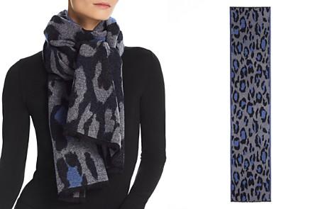 Kenzo Leopard Print Scarf - Bloomingdale's_2