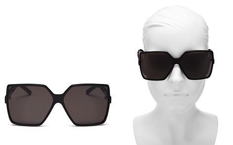 Saint Laurent Betty Oversized Square Sunglasses, 63mm - Bloomingdale's_2