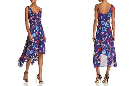 Parker Pippy Asymmetric Floral-Print Dress - Bloomingdale's_2