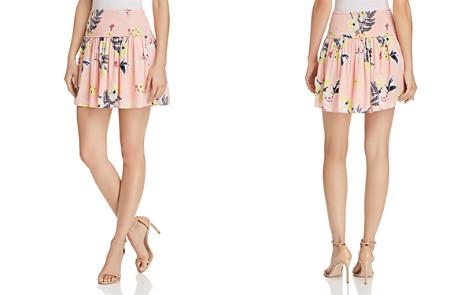Jack by BB DAKOTA Guiliana Smocked Floral Print Skirt - Bloomingdale's_2