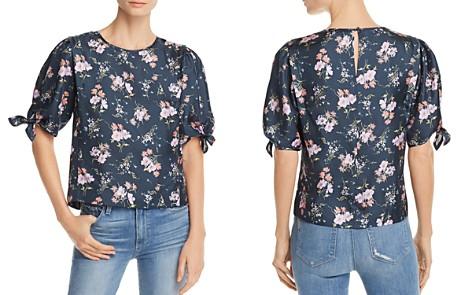 Rebecca Taylor Emilia Floral-Print Puff-Sleeve Top - Bloomingdale's_2