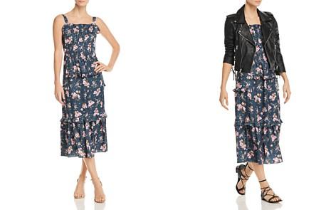 Rebecca Taylor Emilia Floral-Print Silk Midi Dress - Bloomingdale's_2