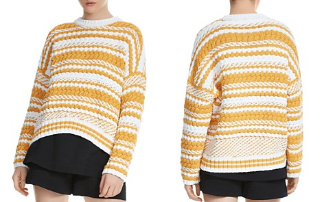 Maje Modeste Mixed-Stitch Sweater - Bloomingdale's_2