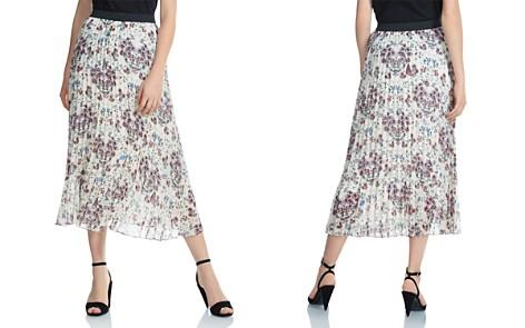 Maje Jimel Pleated Floral-Print Midi Skirt - Bloomingdale's_2