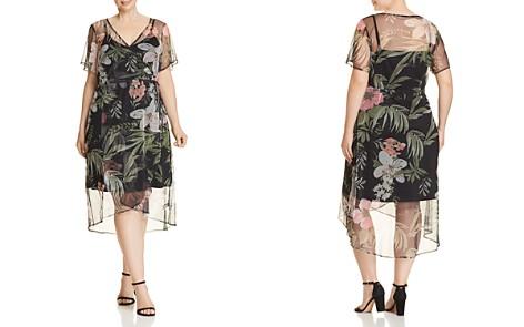 Estelle Amaryllis Floral Mesh Wrap Dress - 100% Exclusive - Bloomingdale's_2