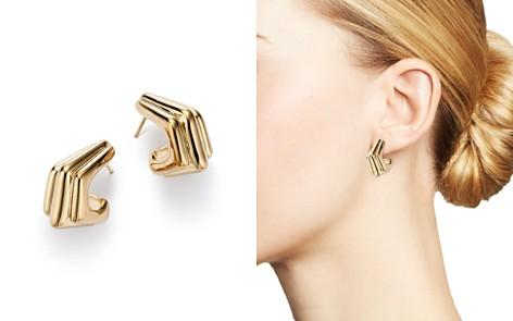 Bloomingdale's Triple J Hoop Earrings in 14K Yellow Gold - 100% Exclusive_2