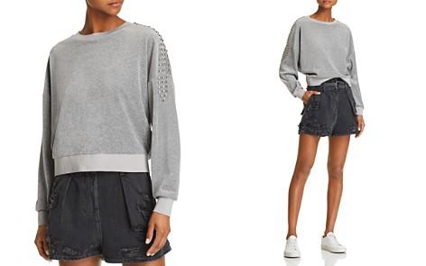 IRO.JEANS Heathen Studded Velour Sweatshirt - Bloomingdale's_2