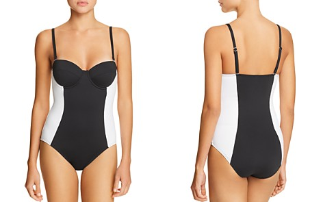 Echo Color-Block Underwire One Piece Swimsuit - Bloomingdale's_2