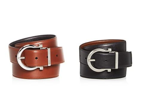Salvatore Ferragamo Gancini Buckle Reversible Leather Belt - Bloomingdale's_2