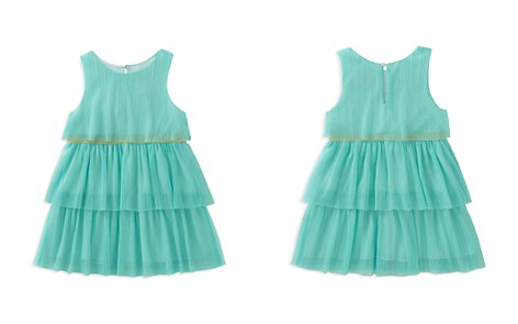 kate spade new york Girls' Tiered Mesh Shimmer Dress - Little Kid - Bloomingdale's_2