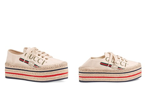 Gucci Women's Canvas Platform Sneakers - Bloomingdale's_2