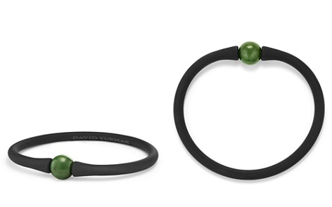 David Yurman Spiritual Beads Stone Rubber Bracelet with Nephrite Jade - Bloomingdale's_2