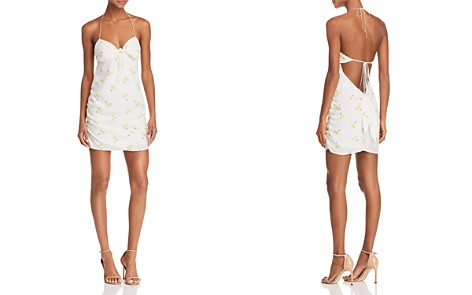 For Love & Lemons Ashland Cherry-Print Halter Dress - Bloomingdale's_2