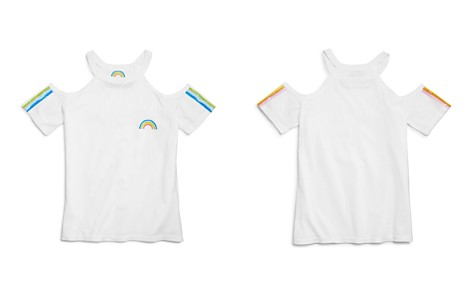 So Nikki... Girls' Cold-Shoulder Rainbow Tee - Big Kid - Bloomingdale's_2