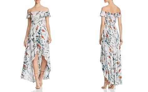 Elan Off-the-Shoulder High/Low Maxi Dress - Bloomingdale's_2