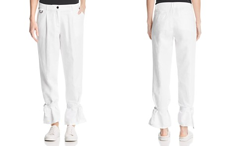 Kenneth Cole Pleated Ankle-Tie Pants - Bloomingdale's_2