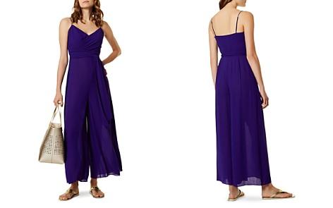 KAREN MILLEN Belted Wide-Leg Jumpsuit - Bloomingdale's_2