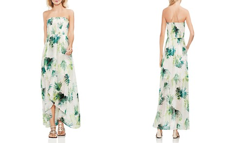 VINCE CAMUTO Sunlit Palm Smocked Maxi Dress - Bloomingdale's_2