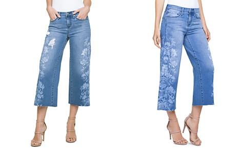 Liverpool Printed Wide-Leg Crop Jeans in Melbourne - Bloomingdale's_2
