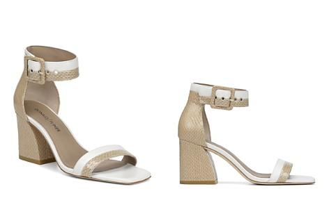 Donald Pliner Women's Watson Color-Block Leather Block Heel Sandals - Bloomingdale's_2