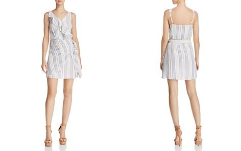 GUESS Laguna Metallic Striped Dress - Bloomingdale's_2