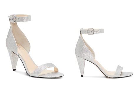 VINCE CAMUTO Women's Cashane Shimmer Ankle Strap Sandals - Bloomingdale's_2
