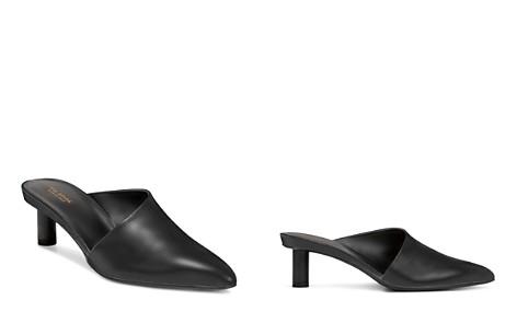 Via Spiga Women's Freya Point-Toe Cylinder-Heel Leather Slide Mules - 100% Exclusive - Bloomingdale's_2
