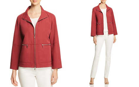 Lafayette 148 New York Kellen Zip-Front Jacket - Bloomingdale's_2