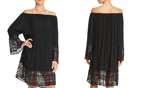 Muche et Muchette Miles Off-the-Shoulder Dress Swim Cover-Up - Bloomingdale's_2