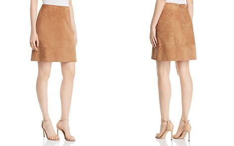 Elie Tahari Lexie Suede A-Line Mini Skirt - Bloomingdale's_2