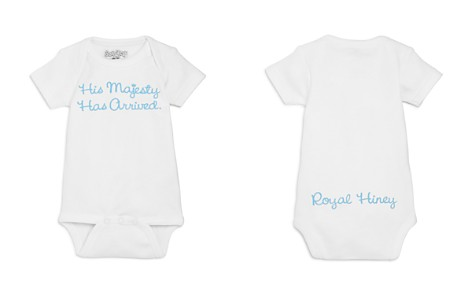 Sara Kety Boys' His Majesty Has Arrived Bodysuit, Baby - 100% Exclusive - Bloomingdale's_2