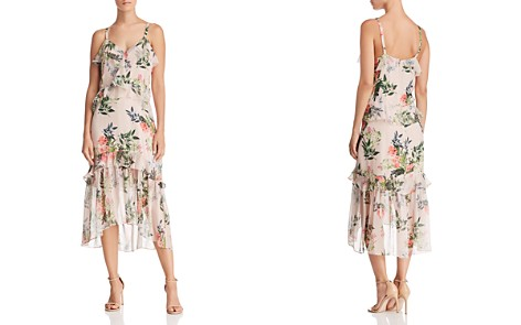 Parker Josie Floral Silk Dress - Bloomingdale's_2