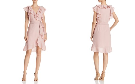 Lucy Paris Hermosa Ruffled Faux-Wrap Dress - 100% Exclusive - Bloomingdale's_2