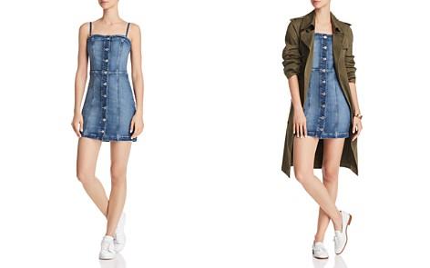 GUESS Ariana Body-Con Denim Dress - Bloomingdale's_2