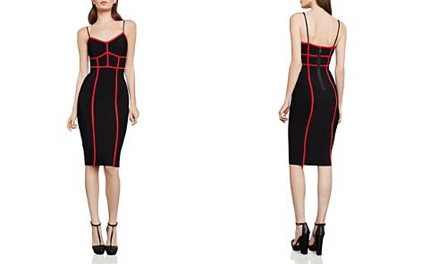 BCBGMAXAZRIA Contrast-Trim Body-Con Dress - Bloomingdale's_2
