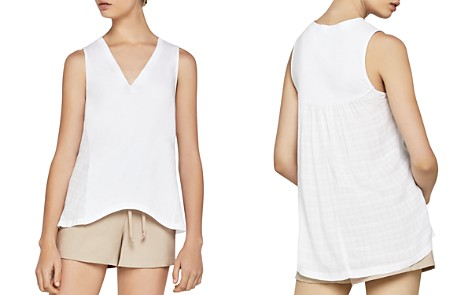 BCBGeneration Mixed Media High/Low Tank - Bloomingdale's_2