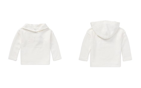 Polo Ralph Lauren Girls' French Terry Flag Hoodie - Little Kid - Bloomingdale's_2
