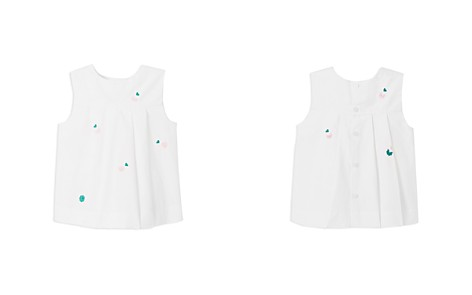 Jacadi Girls' Embroidered Clover & Heart Tunic - Baby - Bloomingdale's_2