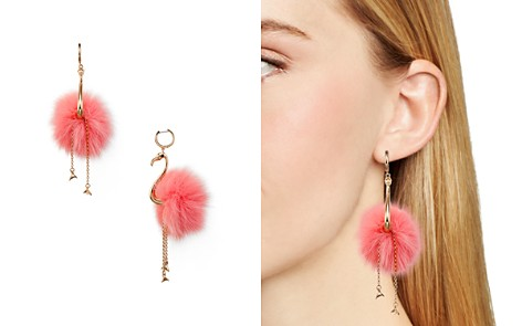 kate spade new york Flamingo Statement Drop Earrings - Bloomingdale's_2