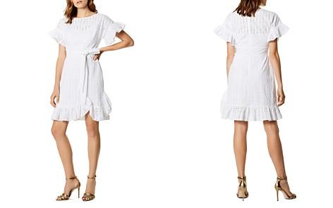 KAREN MILLEN Ruffled Eyelet Dress - Bloomingdale's_2