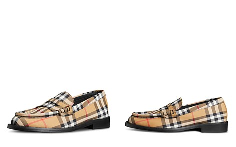 Burberry Women's Bedmont Check Loafers - Bloomingdale's_2